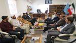 علی اکبرسلیمانی،فرماندارآوج، هفته قوه قضائیه،دیدار