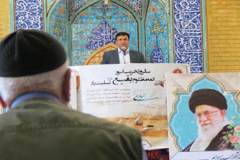 علی اکبرسلیمانی،فرماندارآوج، نمازجمعه،موادمخدر