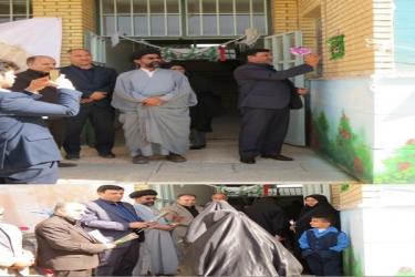 علی اکبرسلیمانی،فرماندارآوج،زنگ،سال تحصیلی،جدید
