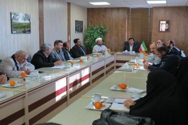 علی اکبرسلیمانی،فرماندارآوج، نشست،شورا،قشر،بسیج