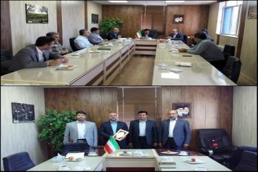 علی اکبرسلیمانی،فرماندارآوج،معارفه، رشوند،بخشدار،آبگرم