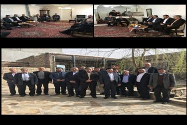 علی اکبرسلیمانی،فرماندارآوج، بابایی صالح،بازدید،چندروستا