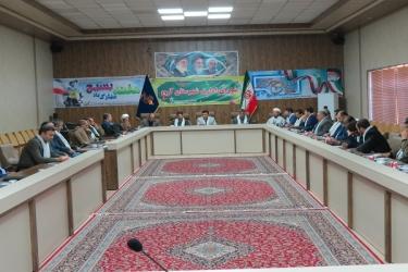 علی اکبرسلیمانی،فرماندارآوج، شورای اداری