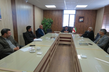 علی اکبرسلیمانی،فرماندارآوج، نشست، شورا، بخش