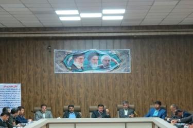 علی اکبرسلیمانی،فرماندارآوج،هم اندیشی، دهیاران، شوراها، بنیادمسکن