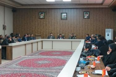 علی اکبرسلیمانی،فرماندارآوج، شورا،حفاظت، آب