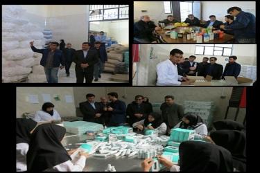 علی اکبرسلیمانی،فرماندارآوج، بازدید کارخانه،آوجکو