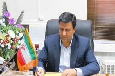 علی اکبرسلیمانی،فرماندارآوج، پیام تبریک،13 آبان