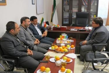 علی اکبرسلیمانی،فرماندارآوج، روزشهردار،دیدار
