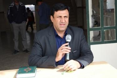 علی اکبرسلیمانی،فرماندارآوج، هفته پدافند