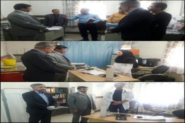علی اکبرسلیمانی،فرماندارآوج، بازدید، مرکزسلامت، اردلان