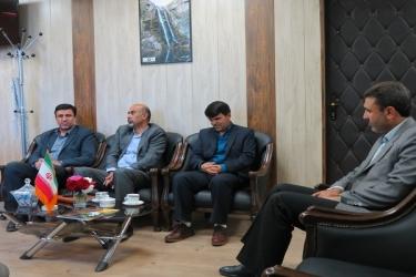 علی اکبرسلیمانی،فرماندارآوج،دیدار،مدیرکل، ثبت احوال